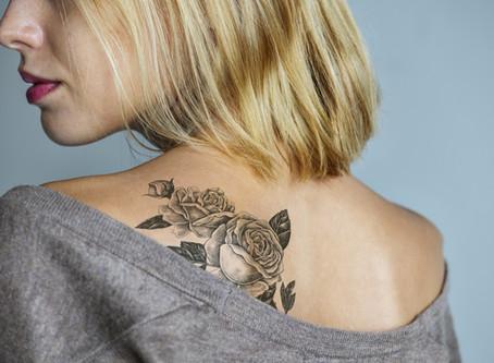Saturday Writing Prompt -  Tattoo - 20th June