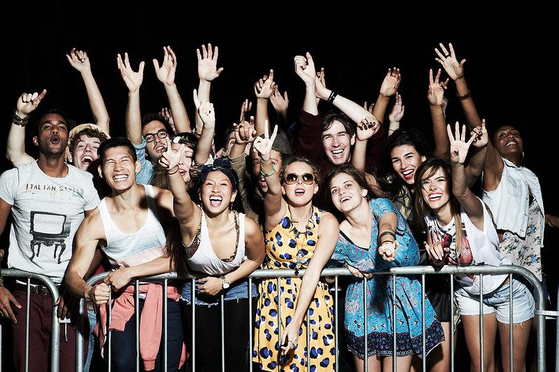konsert Crowd