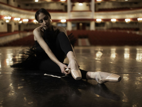 Your first pair of pointe shoes . . . tell us your stories . . .