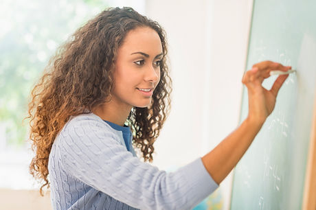 Escrevendo no quadro