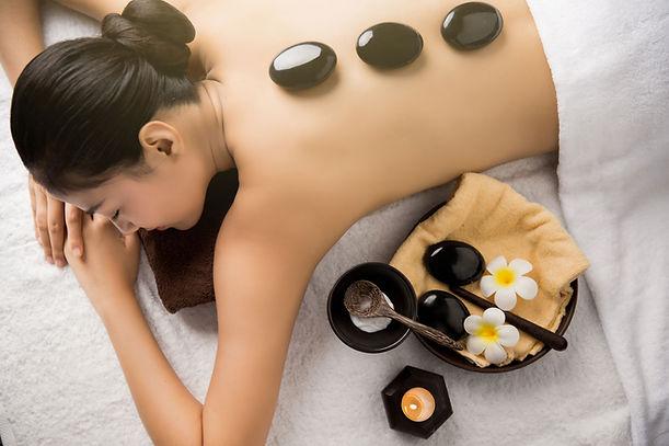 Piedras de tratamiento de spa