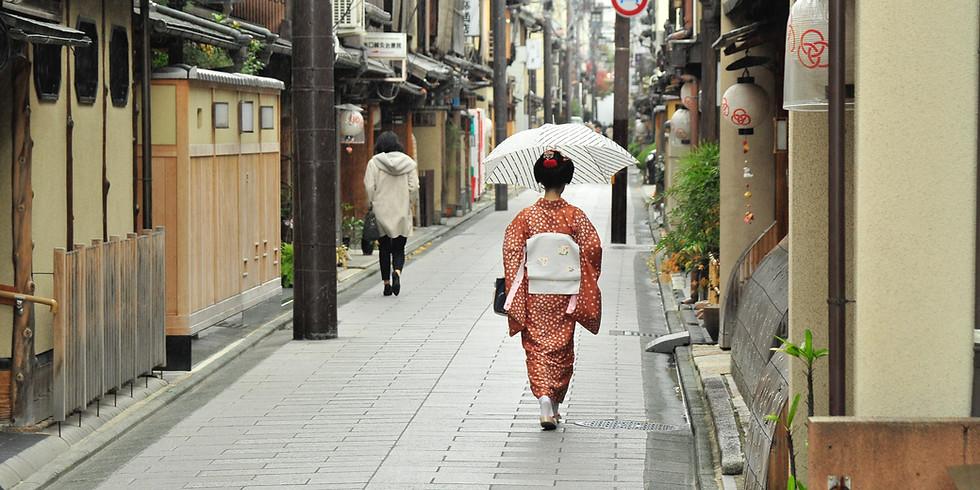京の路地裏探検隊