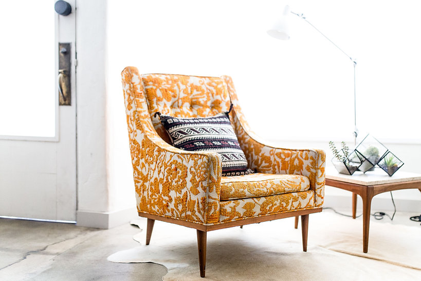 Seitliches Sofa