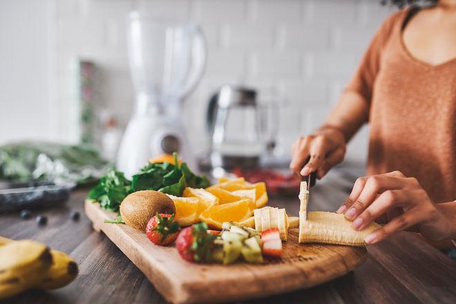 Hacer ensalada de frutas