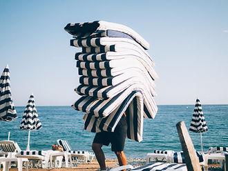 Cojines de playa