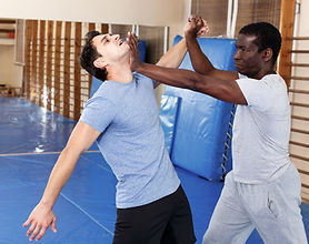 Demonstrating Self Defence Movements