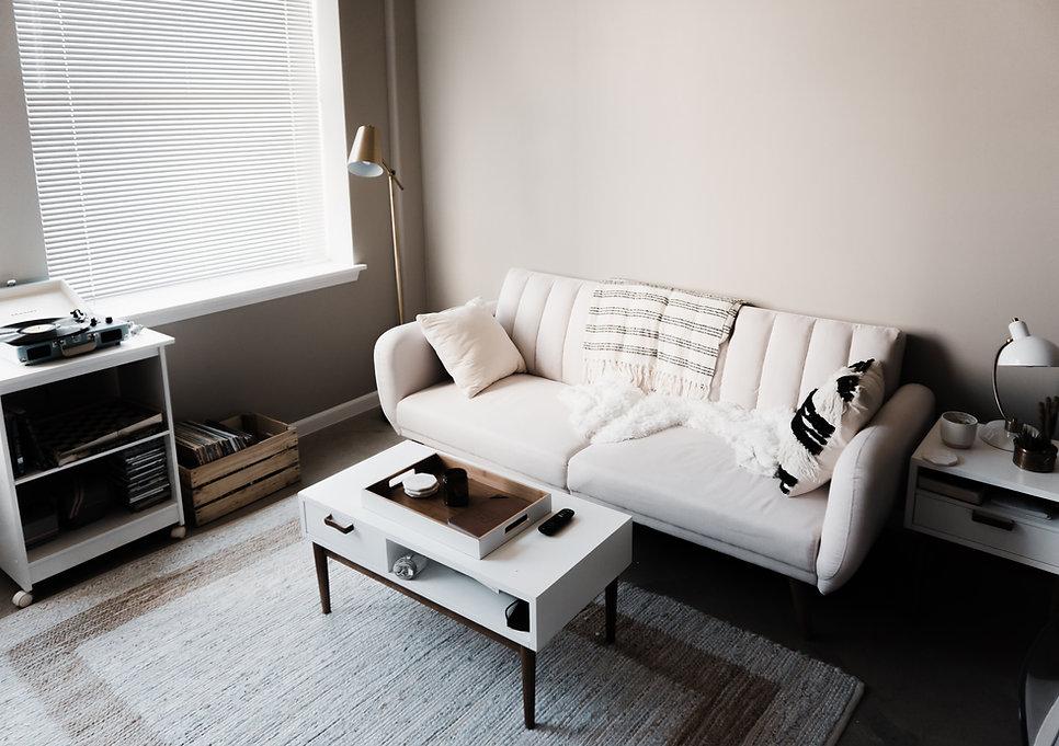 weiß Sofa