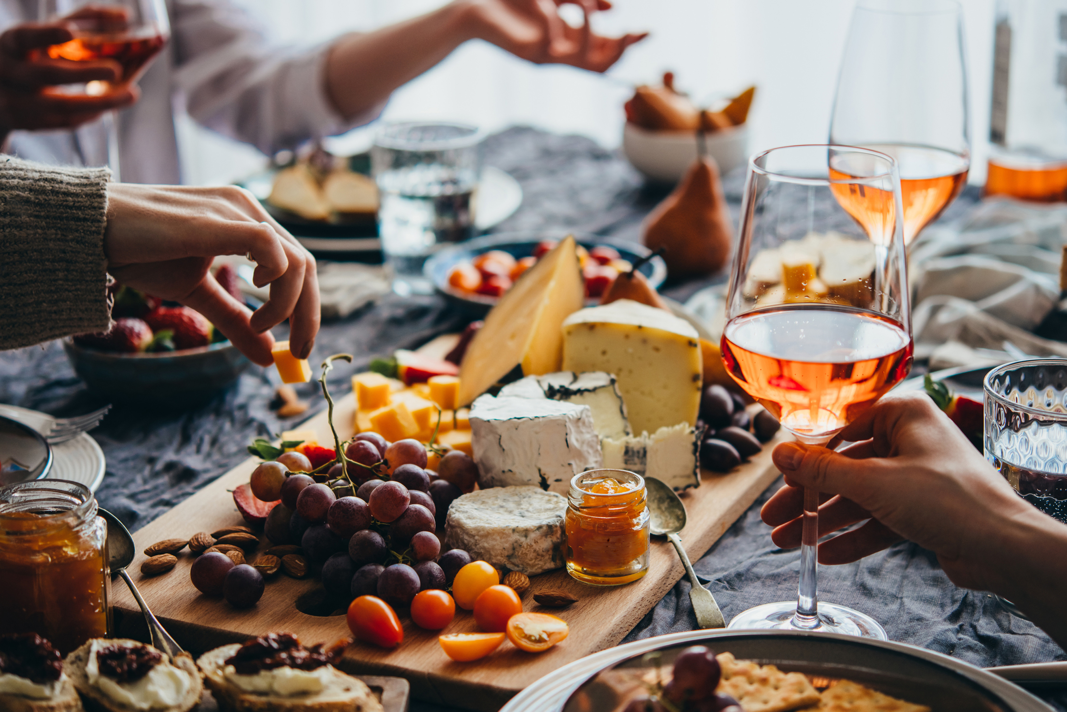 Wine and Cheese Get Togethers