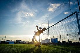 Allenamento di calcio
