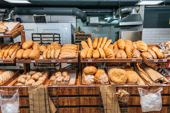 Sezione di pane