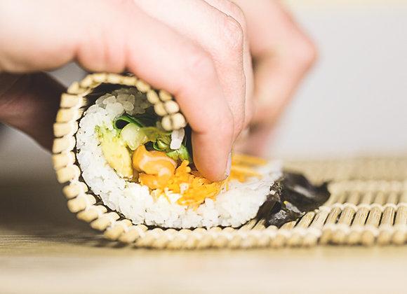 Aprende a hacer Sushi con el Alma para dos personas.