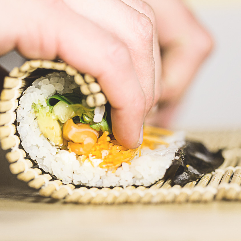 Let's talk Food Planning and make Sushi Teriyaki Jack fruit rolls and miso soup