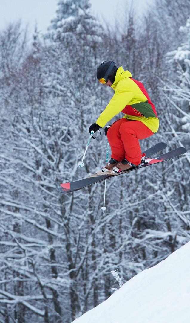Skieur professionnel