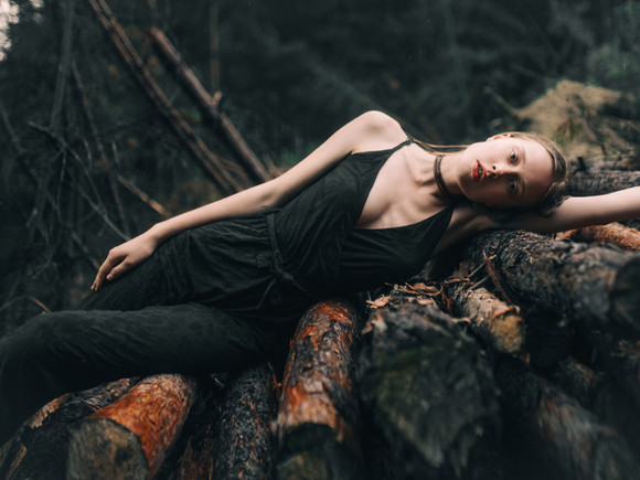 Laying on Logs