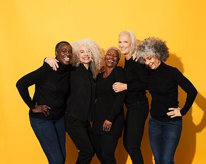 Women in Black Shirts