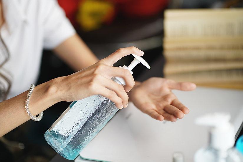 Custom label hand sanitizer custom logo sanitizer spray hand sanitizer gel ppe products