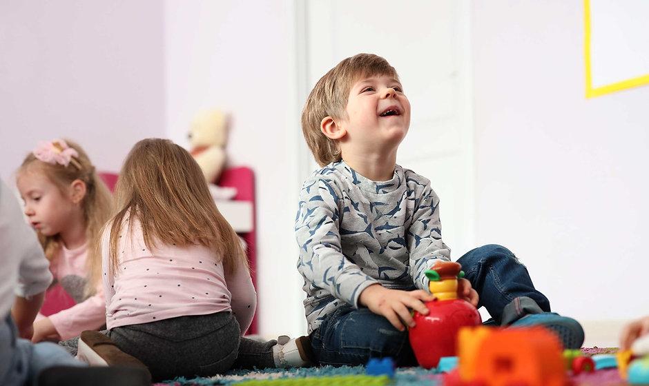 Kinderen in de kinderopvang