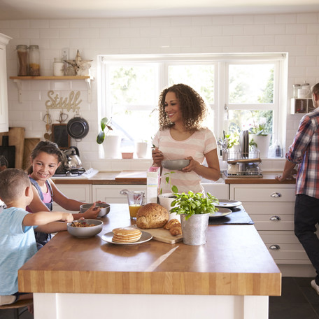 Top Tips | Designing family friendly kitchens