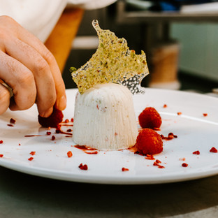 Elegante kaas Dessert