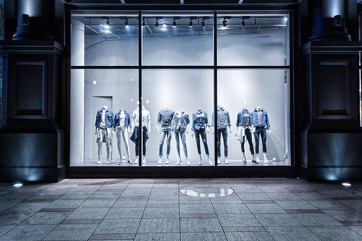 Clothing Shop Window