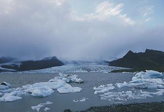 빙산 호수