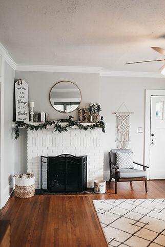 Wooden Floor Living Room
