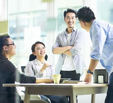 Mutlu Ofis Sohbeti