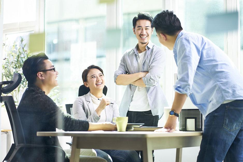 Happy Office Talk
