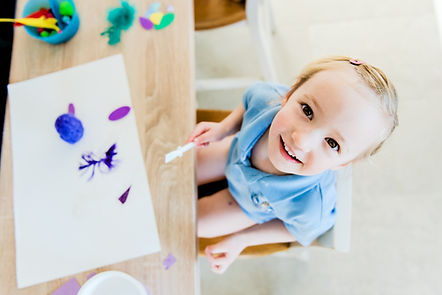 Kid schilderij