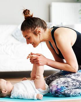 Esercizio madre e bambino