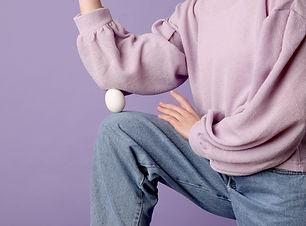 Uovo al ginocchio
