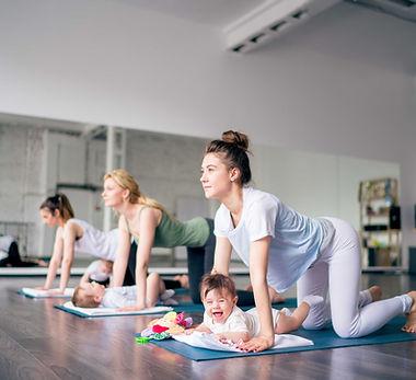 Babies and Yoga