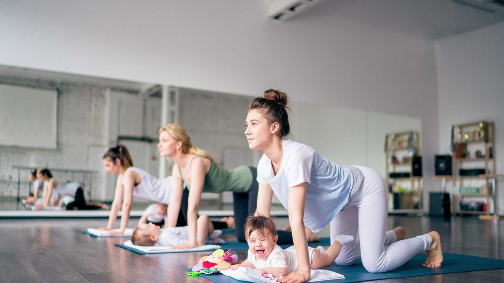 6 x Baby Yoga Sessions eVoucher