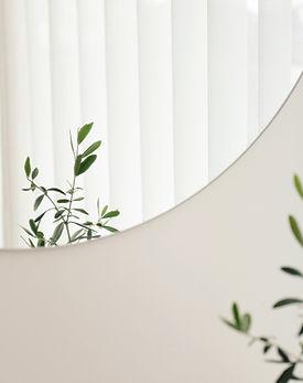 Pflanzenspiegelreflexion