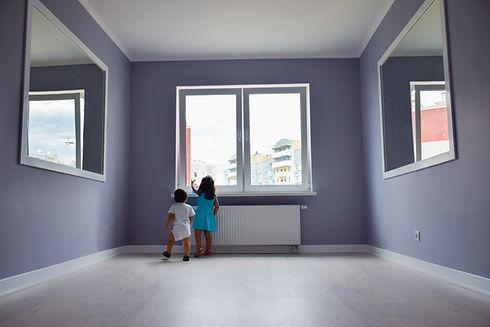 Crianças no apartamento