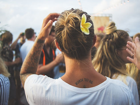 Flower in Hair