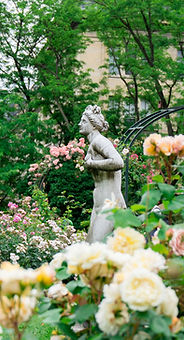 Gartenstatue