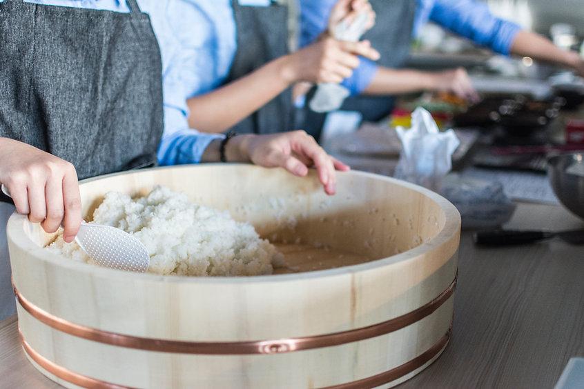 Serving Rice
