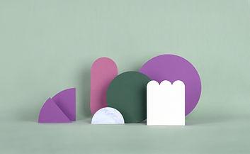 Estructuras de papel de menta