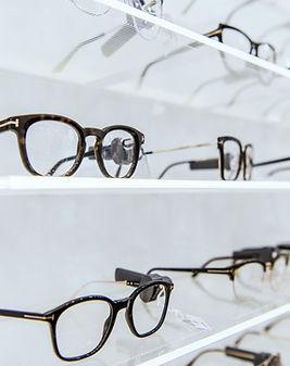 Zobrazení brýlí