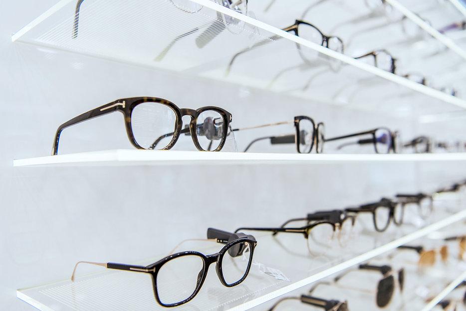 Affichage de lunettes