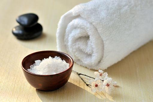 Badesalz für Massage