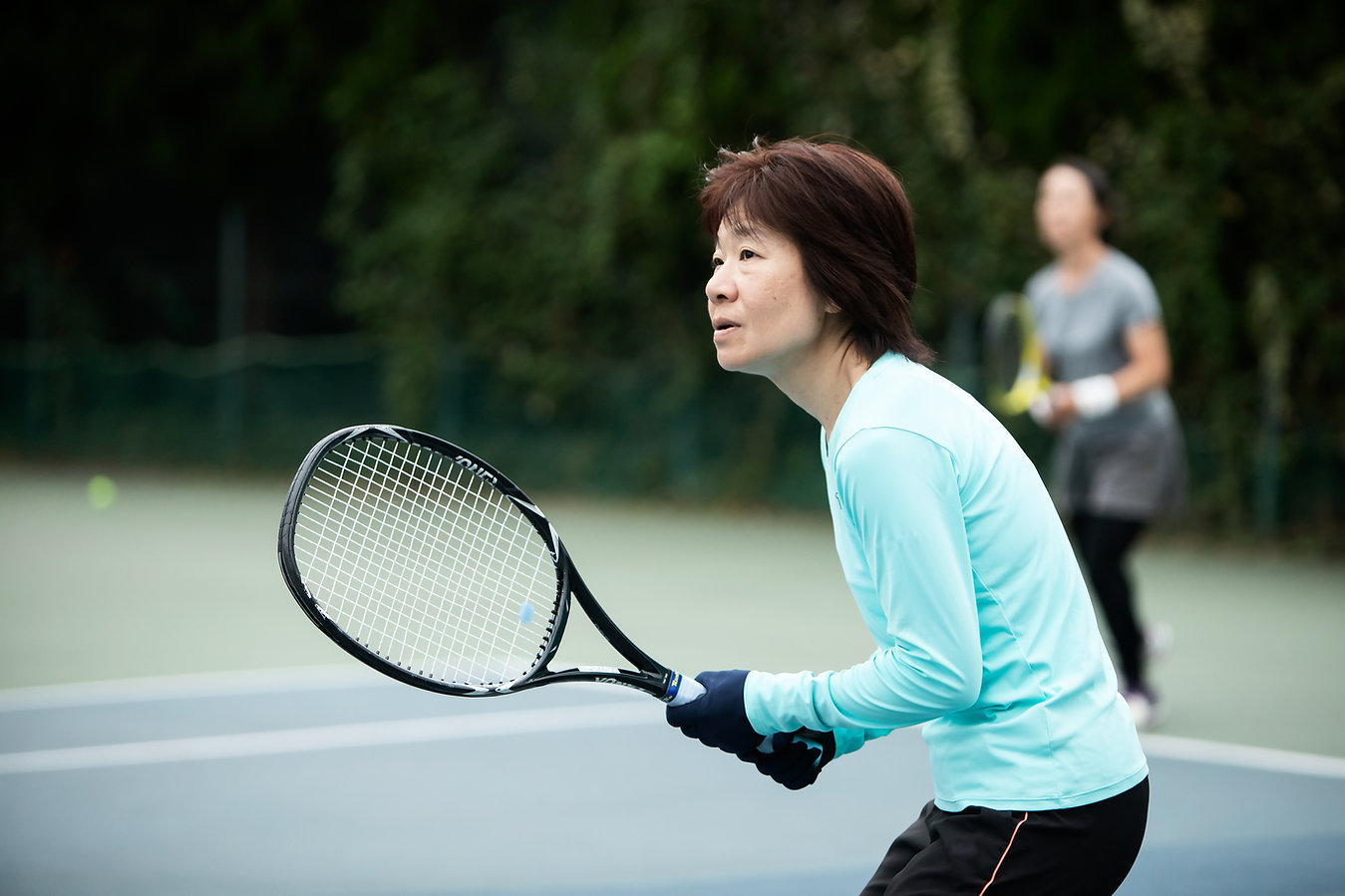 Playing Tennis