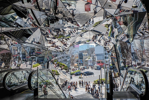 Shopping Mall with Mirrors