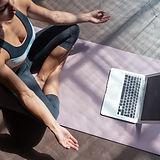 Online jóga