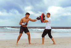 Boxing on the Beach