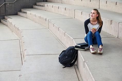 Estudiante en Anfiteatro