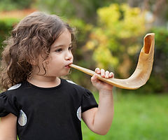Blowing a Horn