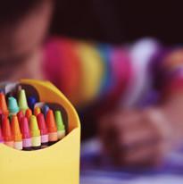 Wax Crayons art