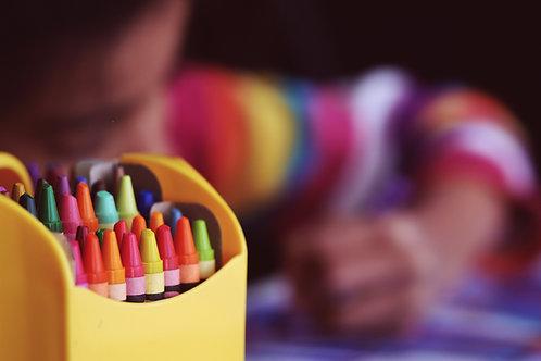 Oil Pastel Art Box